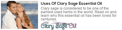 clary sage essential oil uses